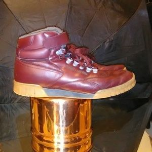 Reebok Vintage Leather Hitop Sneakers